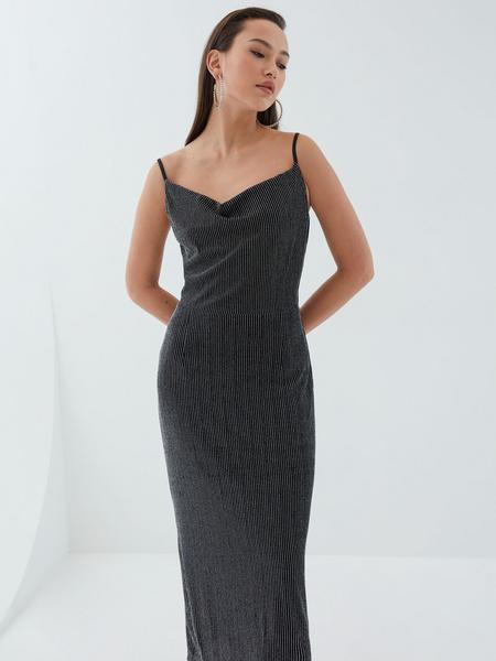 Платье с мерцающей нитью - фото 1