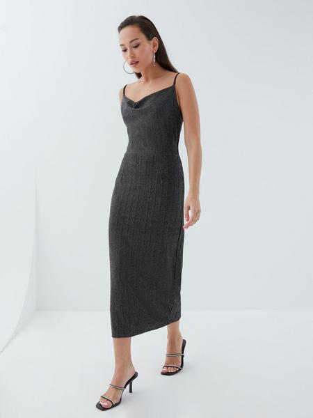 Платье с мерцающей нитью - фото 2