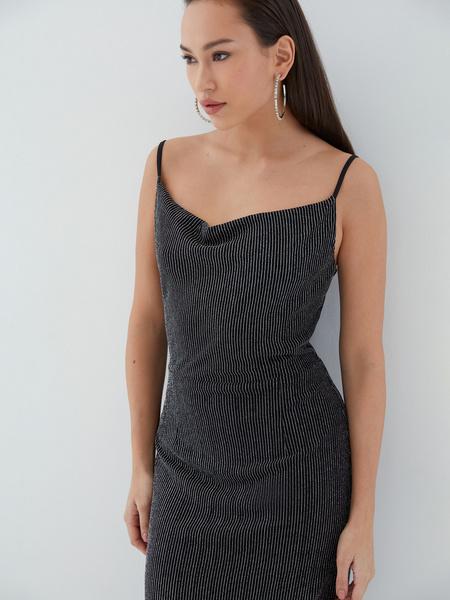 Платье с мерцающей нитью - фото 3