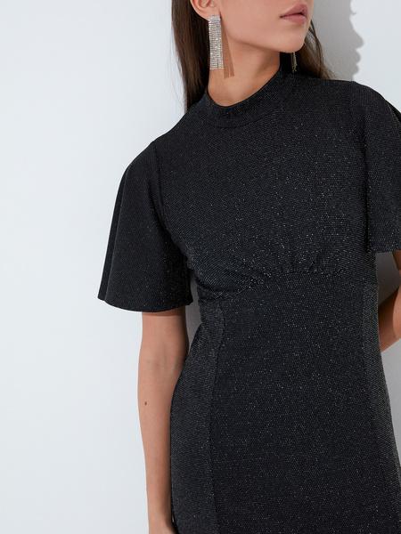Платье со сборкой на груди - фото 3