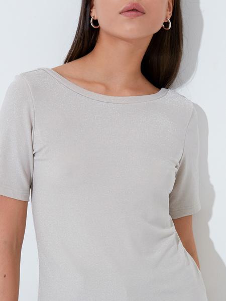 Блузка с вырезом-лодочкой - фото 3
