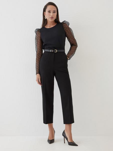 Блузка с рукавами-буфами - фото 2