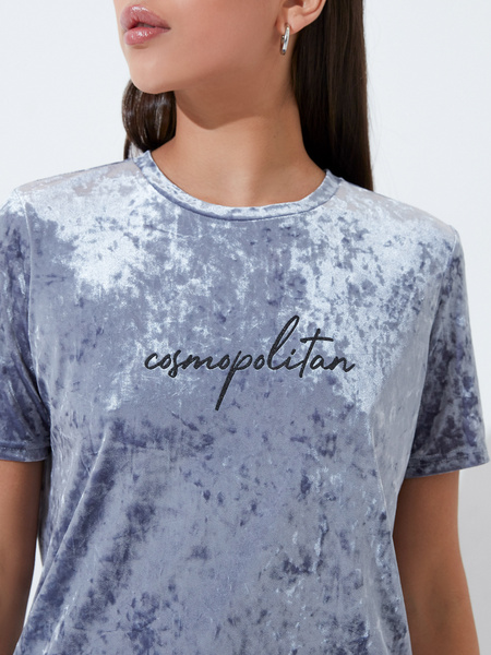 Бархатная блузка - фото 3