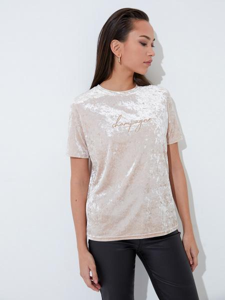 Бархатная блузка - фото 1