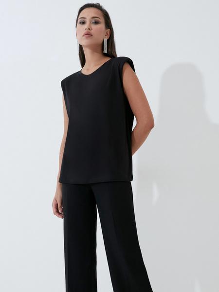 Блузка с плечиками - фото 1