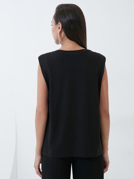 Блузка с плечиками - фото 4