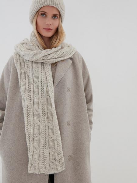 Вязаный шарф - фото 1