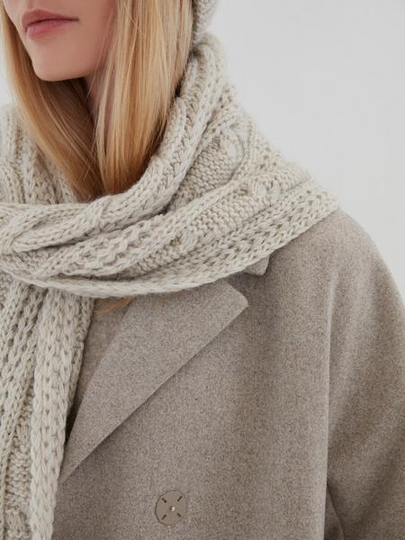 Вязаный шарф - фото 2