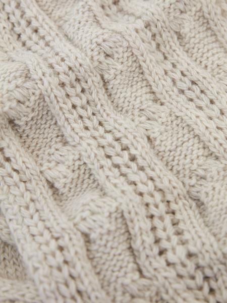 Вязаный шарф - фото 4