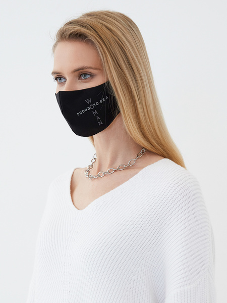 Защитная маска «Proud to be a woman»