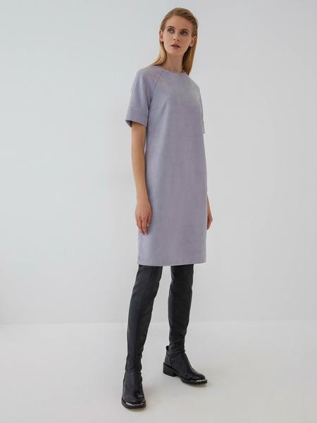 Замшевое платье - фото 2
