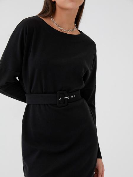 Платье с поясом - фото 3