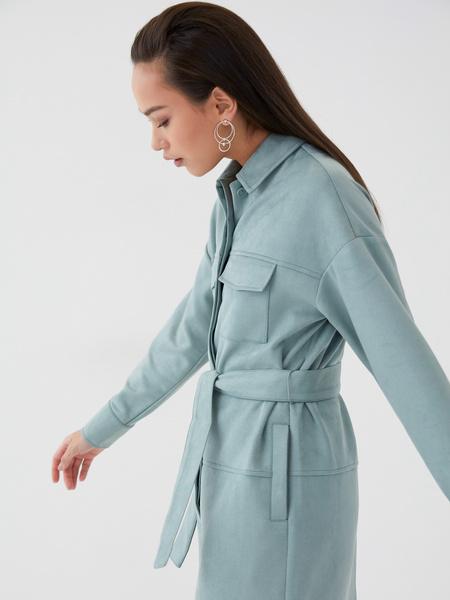 Замшевое платье - фото 5