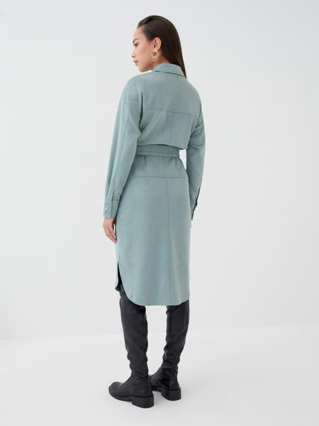 Замшевое платье - фото 8