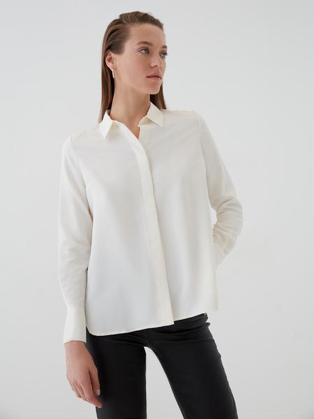 Блузка с удлиненными манжетами