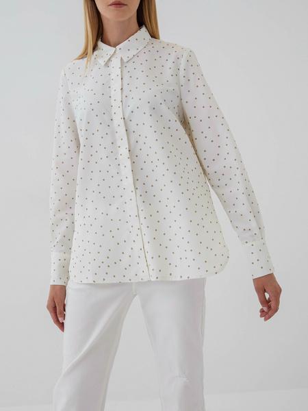 Блузка с удлиненными манжетами - фото 1