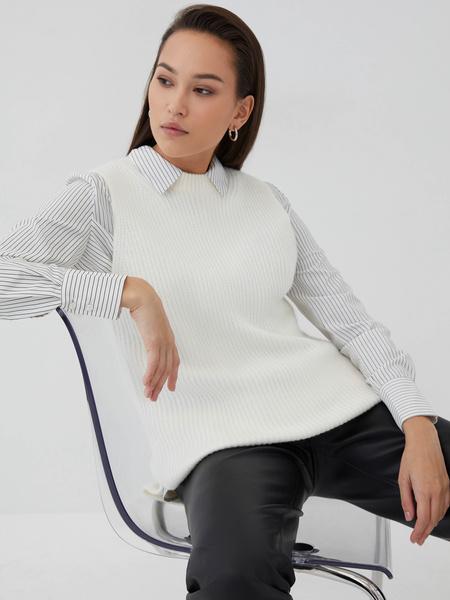 Прямая блузка - фото 3