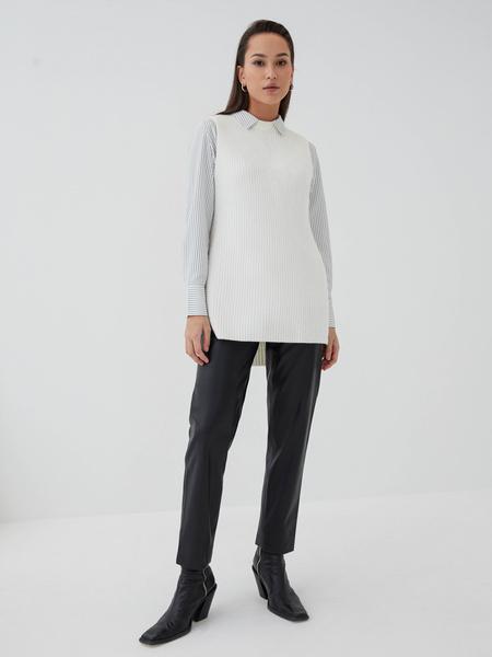 Прямая блузка - фото 7
