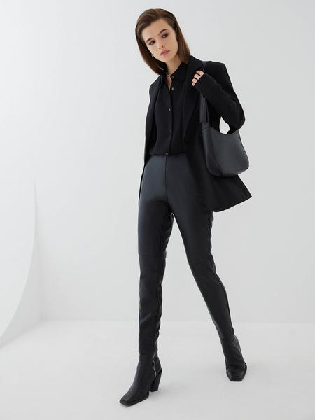 Блузка с прозрачным рукавом - фото 6
