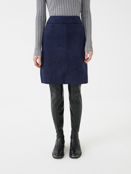 Замшевая юбка - фото 3