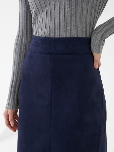 Замшевая юбка - фото 4