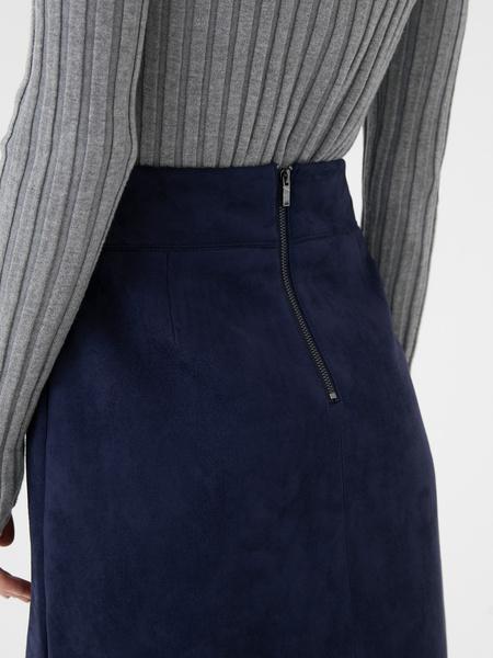 Замшевая юбка - фото 5