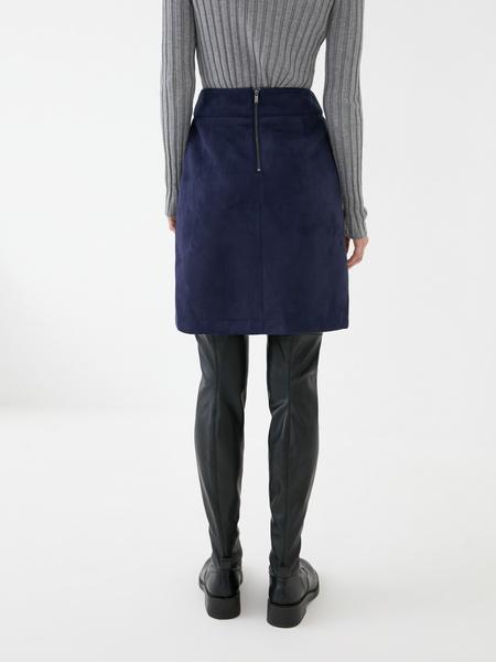 Замшевая юбка - фото 6
