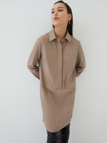 Платье из экокожи - фото 3