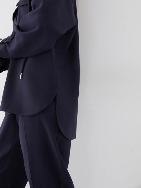 Блузка с карманами - фото 4