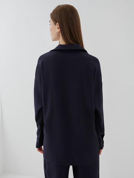 Блузка с карманами - фото 5