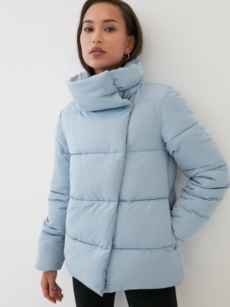 Куртка с объемным воротником - фото 3