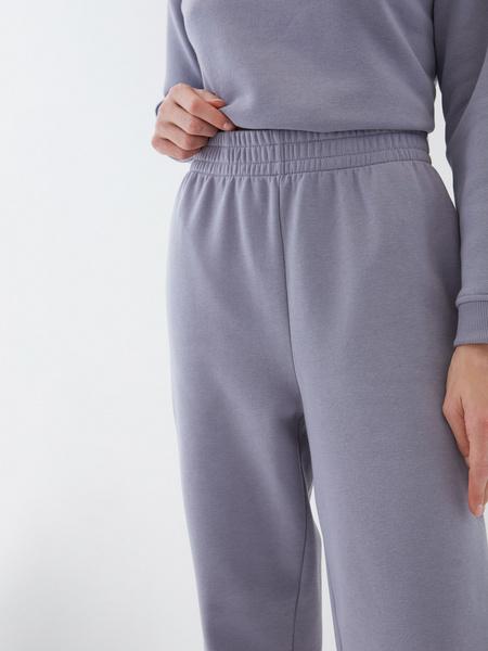 Широкие трикотажные брюки - фото 4