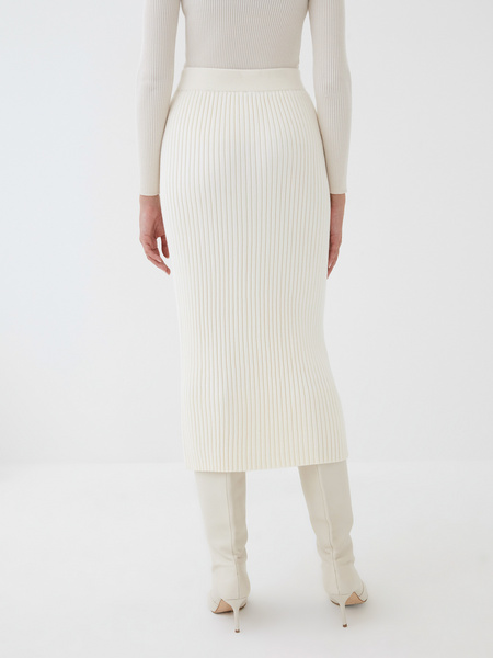 Трикотажная юбка - фото 6