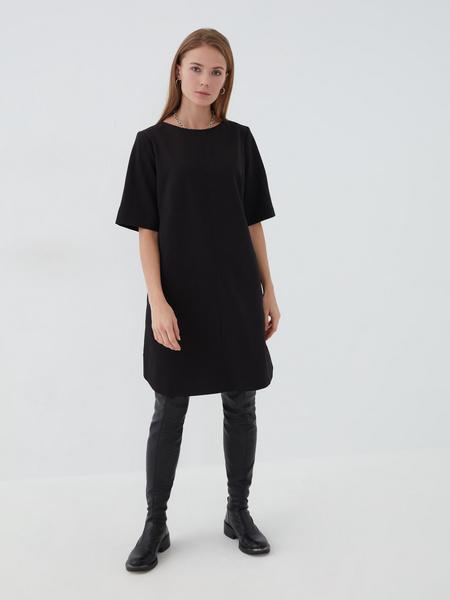 Платье с коротким рукавом - фото 2