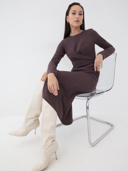 Платье с разрезом - фото 1