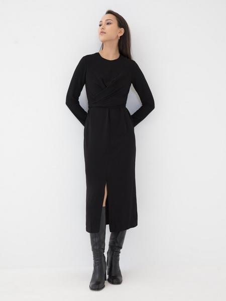 Платье с разрезом - фото 2