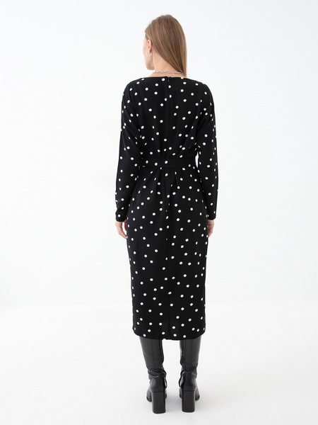 Платье с разрезом - фото 6
