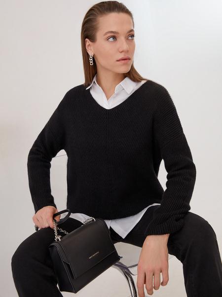 Блузка с карманами - фото 7