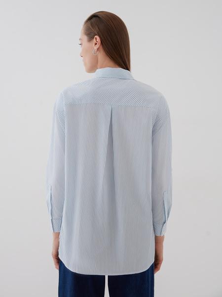 Блузка с карманами - фото 6