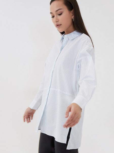 Удлиненная блузка - фото 4