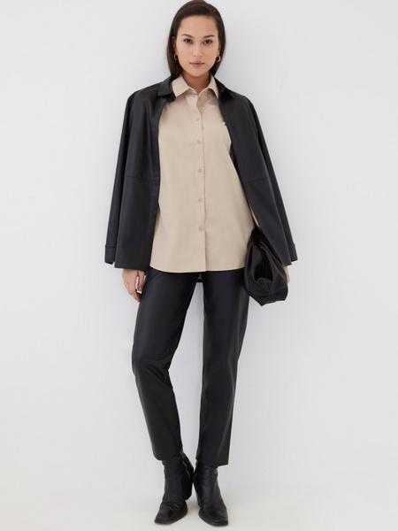Блузка с резинкой по рукавам - фото 2