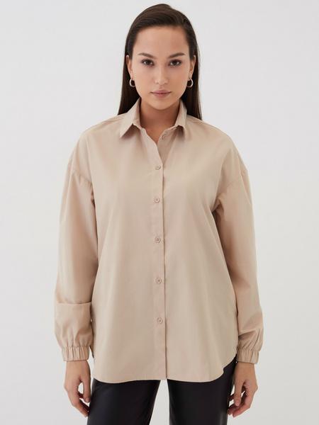 Блузка с резинкой по рукавам - фото 3