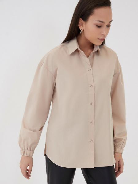 Блузка с резинкой по рукавам - фото 4