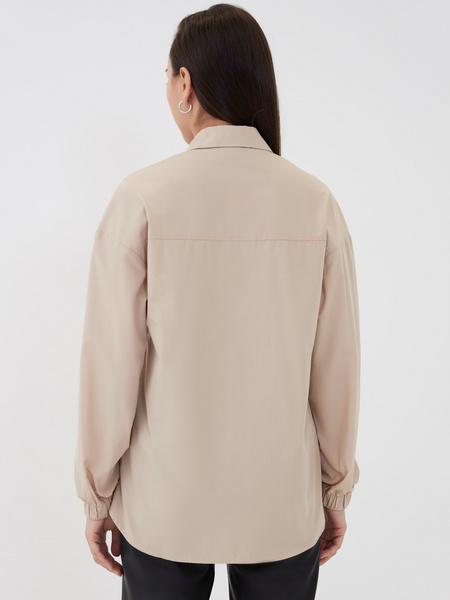 Блузка с резинкой по рукавам - фото 5