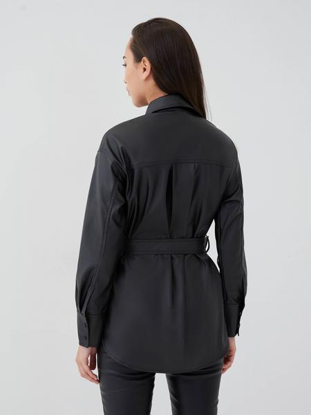 Рубашка из экокожи - фото 5