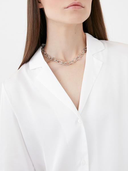 Атласная блузка - фото 3
