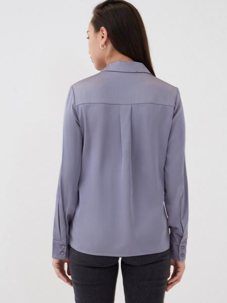 Атласная блузка - фото 5