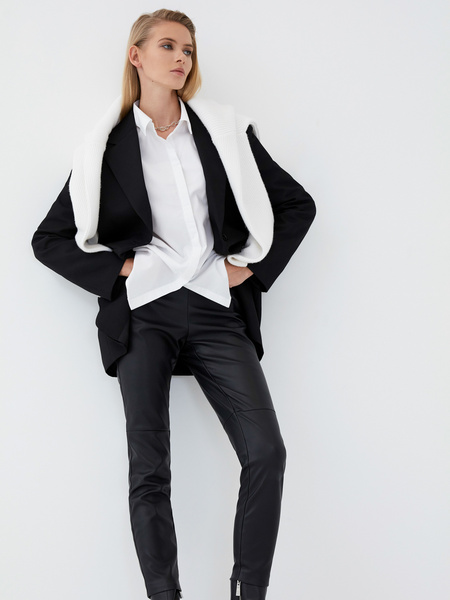 Блузка из хлопка - фото 1