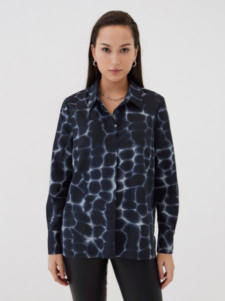 Блузка с принтом  - фото 2