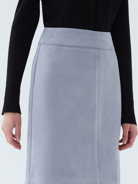 Вельветовая юбка - фото 4